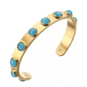 Kate spade Turquoise Tag Along Cuff Bracelet NWT